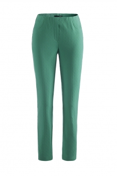 Stehmann Loli3- 742 Jaquardstretchhose in  grazy green