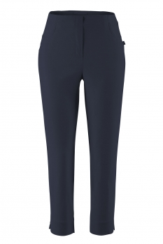 Stehmann Capri - Stretchhose Loli-539 in Luxury Bengaline in Marine